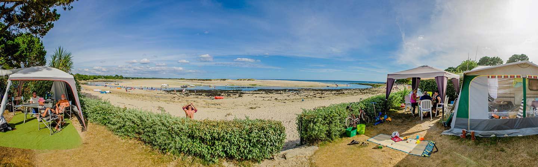 camping bretagne bord de mer