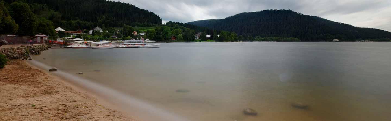 camping à la montagne bord de lac vacances vosges