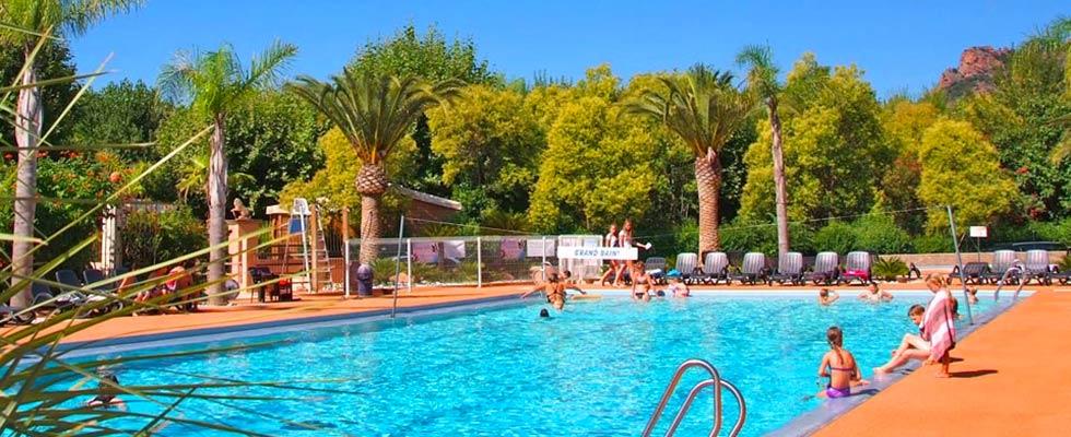 camping avec piscine dans le Var