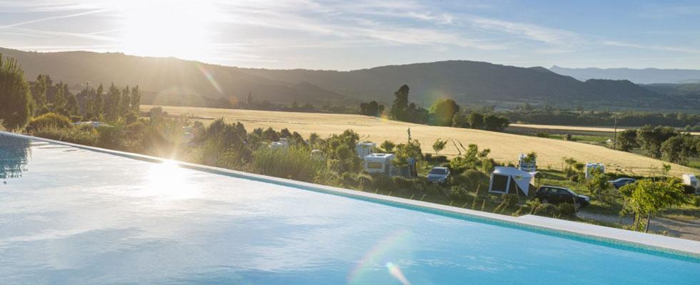 camping drome avec piscine