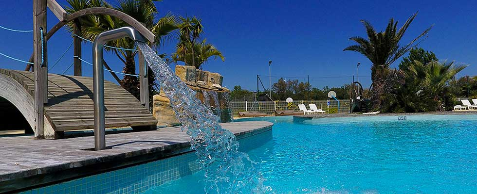 camping agde piscine