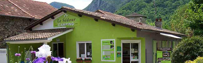 Camping le Sédour dans les montagnes de l'Ariège