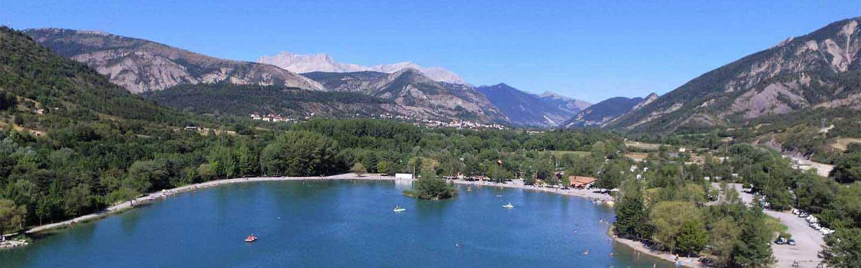 location camping les rives du lac en montagne