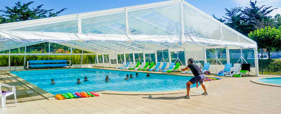 camping Ile d'Oléron avec piscine couverte
