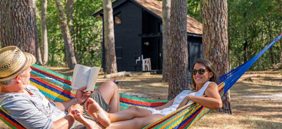 Faire du camping à Biscarrosse